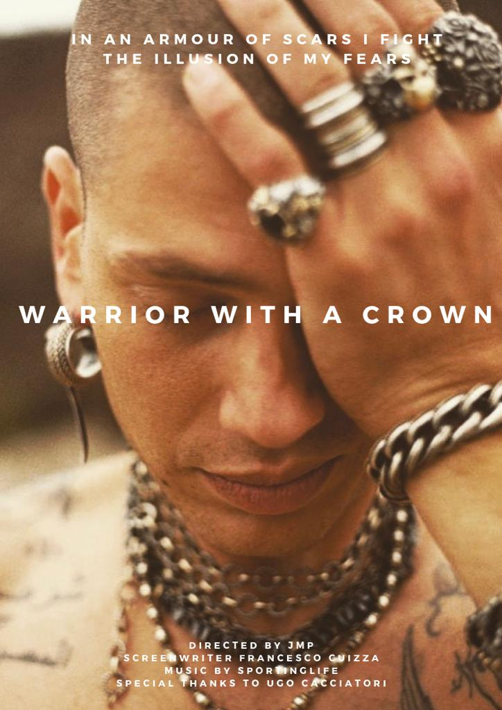 Warrior with a Crown - Poster