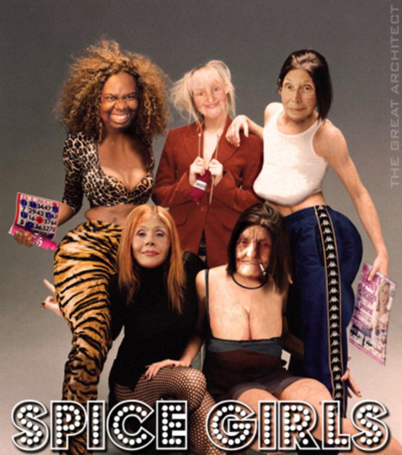 spice girls cash in