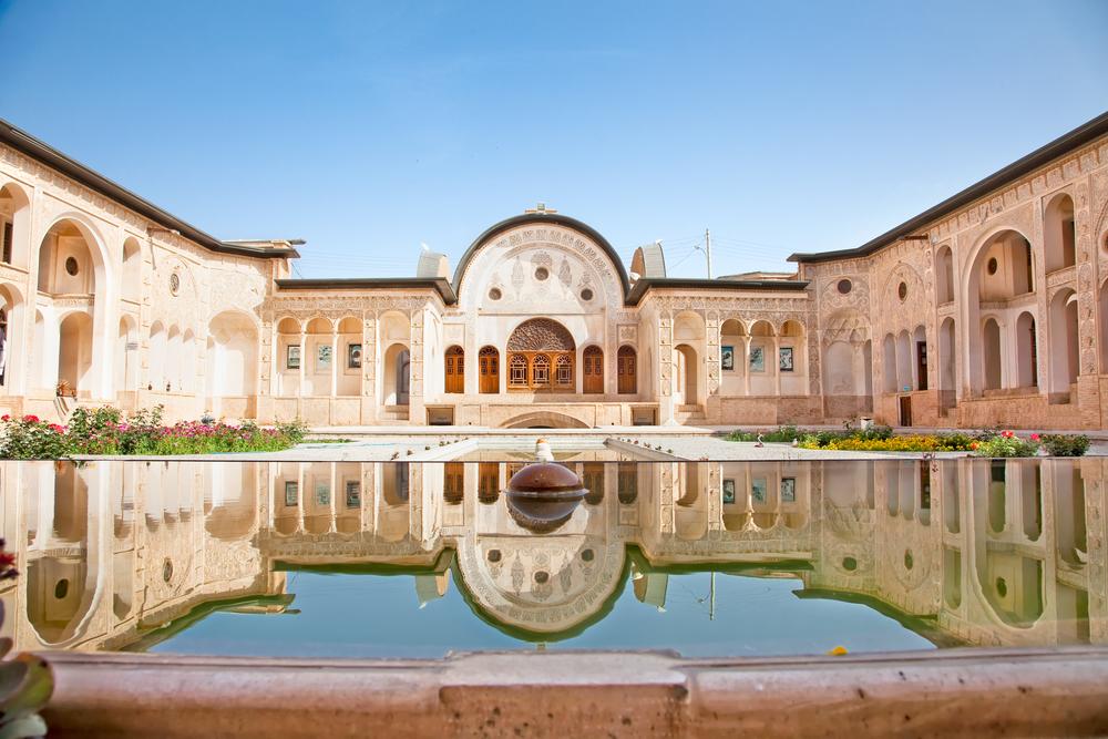 Magnificent Khan-e Tabatabei historic house, Kashan , Iran