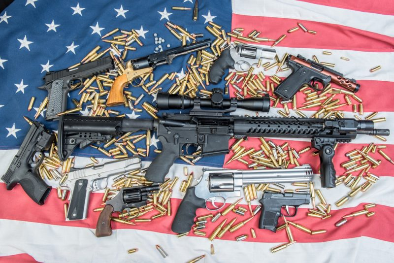 Weapons and ammo American