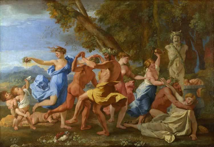 Bachanal - Nicolas Poussin