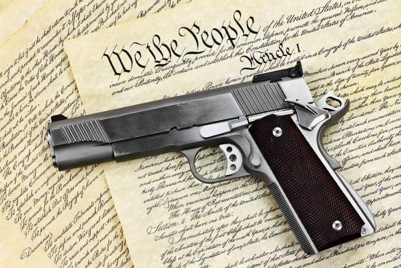 Hand Gun and Constitution CIVIL WAR