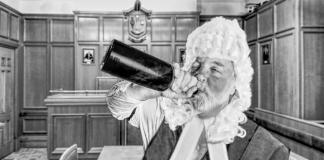 Drunk Scottish judge