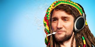 Justin Trudeau Rasta Man political satire