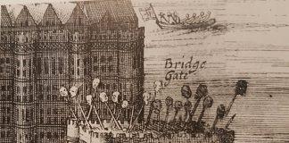 London bridge traitors heads