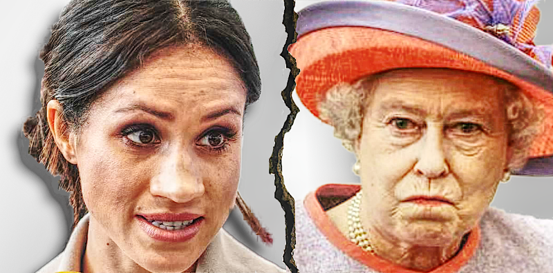Meghan Markle Vs The Queen