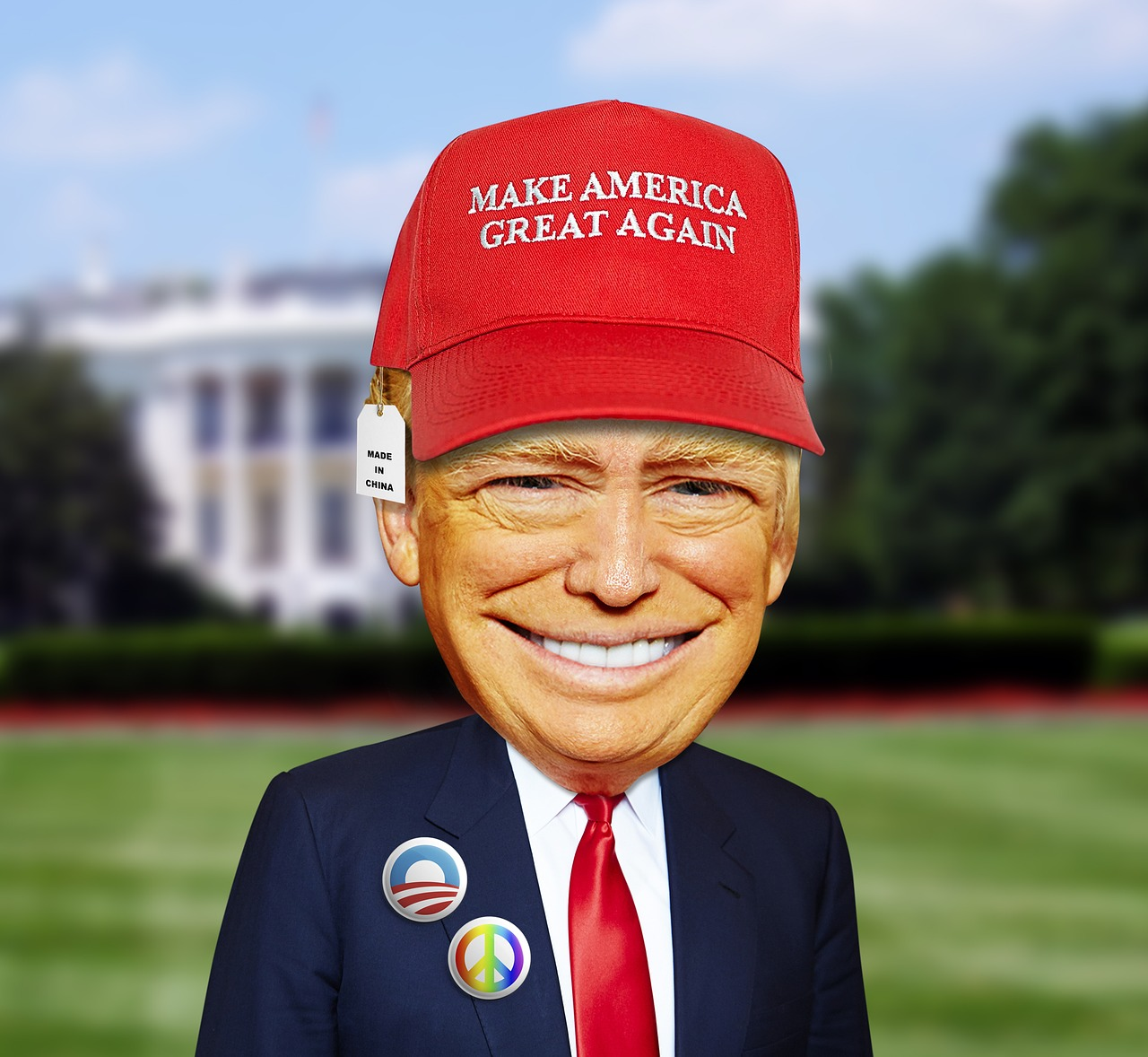 trump-political satire