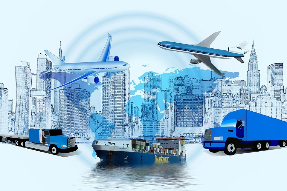 logistics-truck haulage