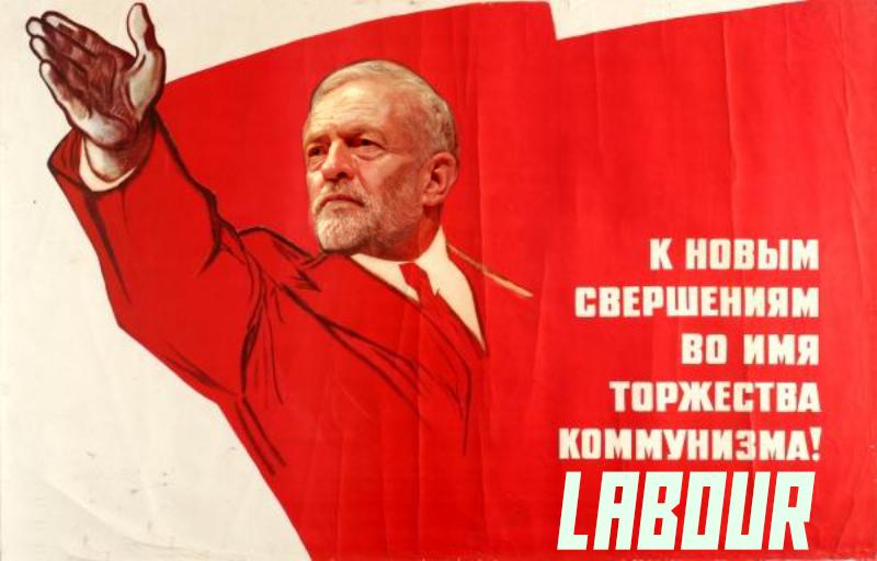 Comrade Corbyn Soviet Poster
