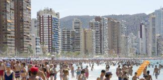 Benidorm, Alicante, Spain, holiday
