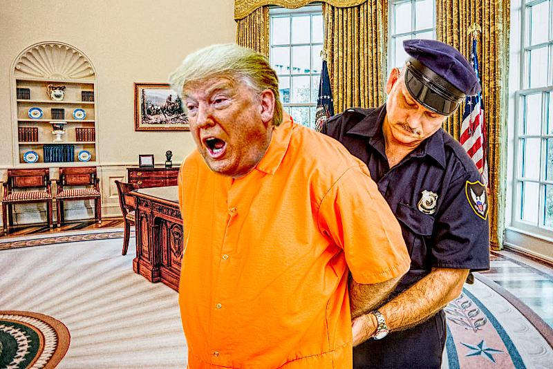 Trump orange Impeachment