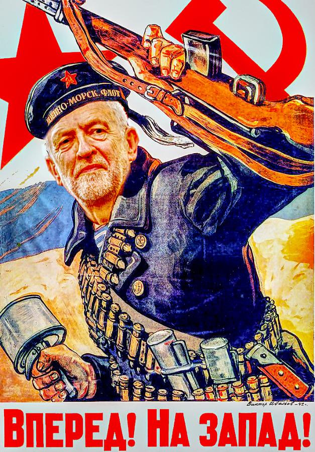 Comrade Corbyn Bolshevik 900