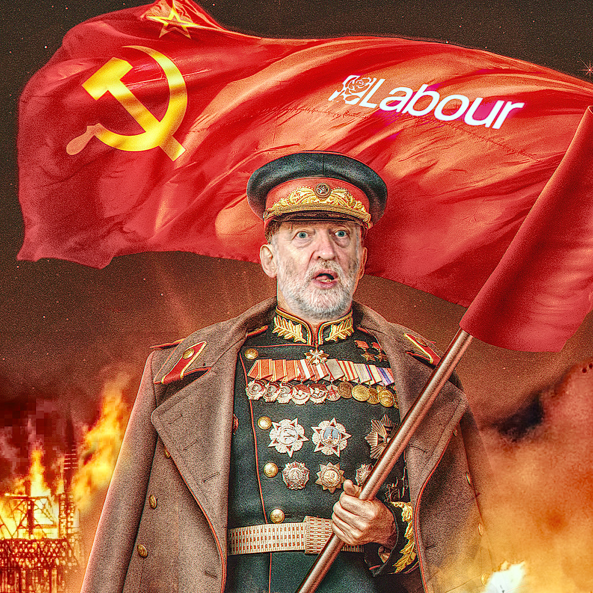 soviet agent cob comrade jeremy corbyn