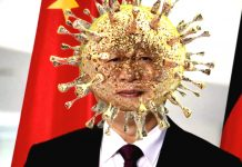 Chinese President Xi Jinping Coronavirus POLITICAL SATIRE