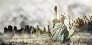 Apocalypse courts POLITICAL SATIRE