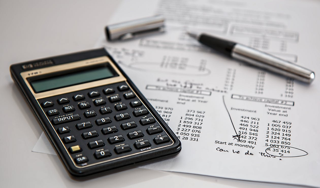 calculator-business costs