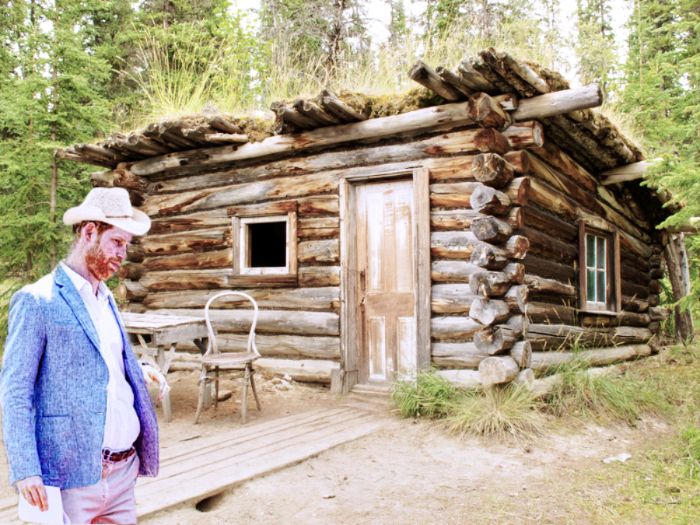 prince harry cabin canada POLITICAL SATIRE