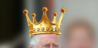 king charles corona'd
