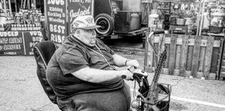 obese americans guns