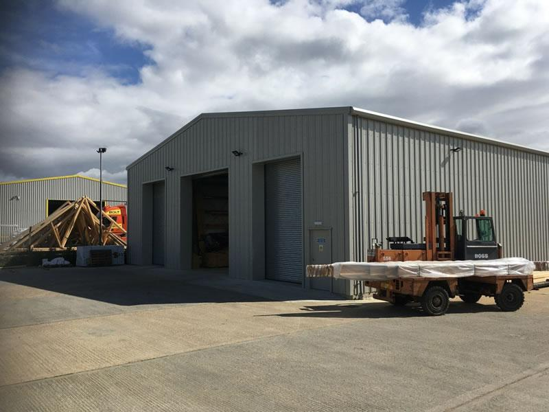 Production Facility For Building Supplies Firm
