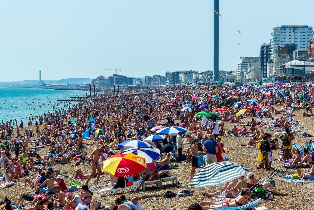 Brighton beach1 coronavirus lockdown