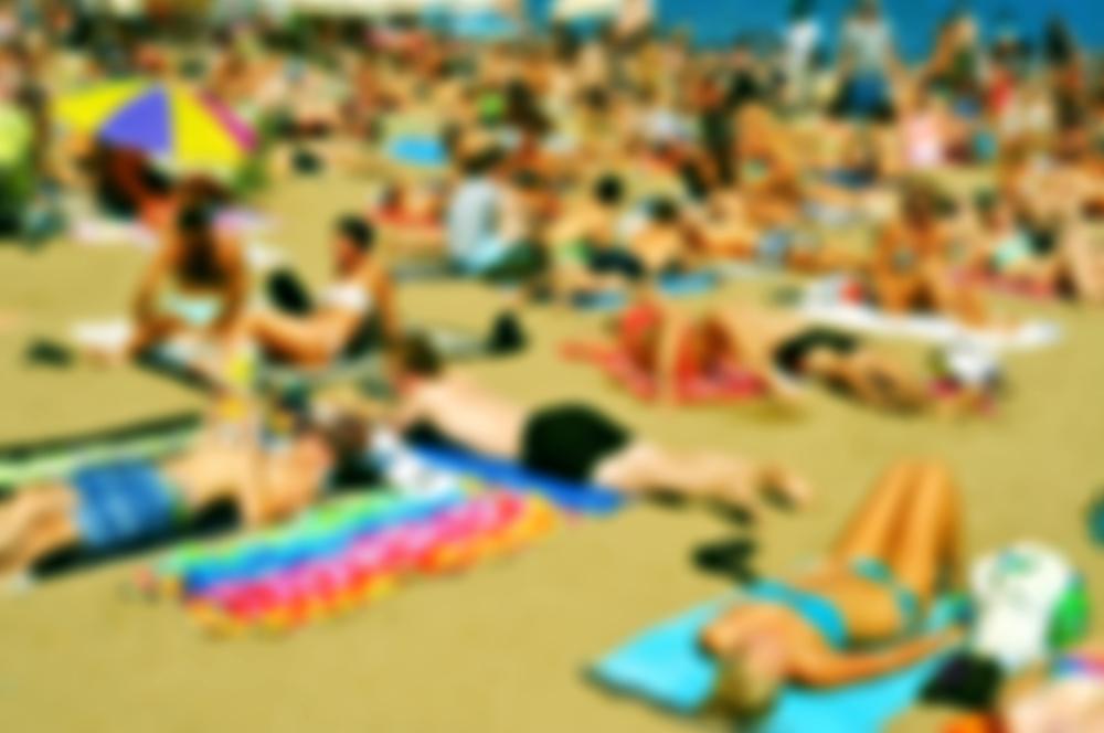 coronavirus beach second wave