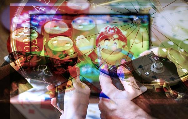gambling-gaming collage