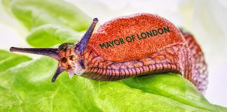sadiq khan slimy slug mayor of london