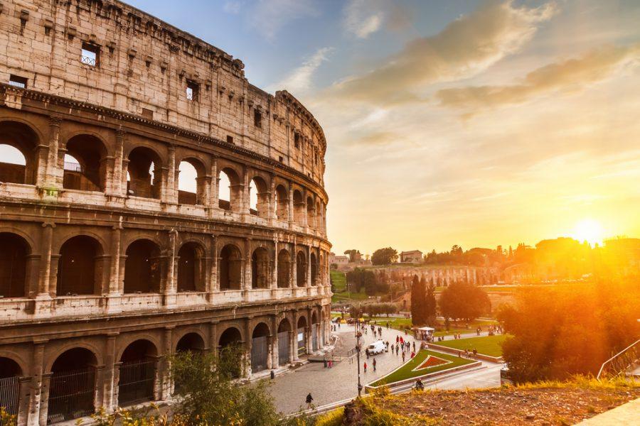 Colosseum Black Lives Matter