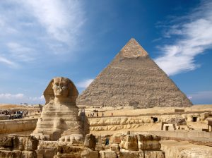 Sphinx and the Great pyramid Black Lives Matter
