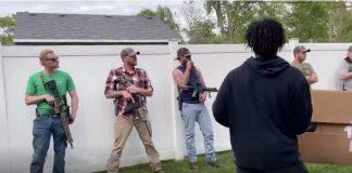 armed homeowners