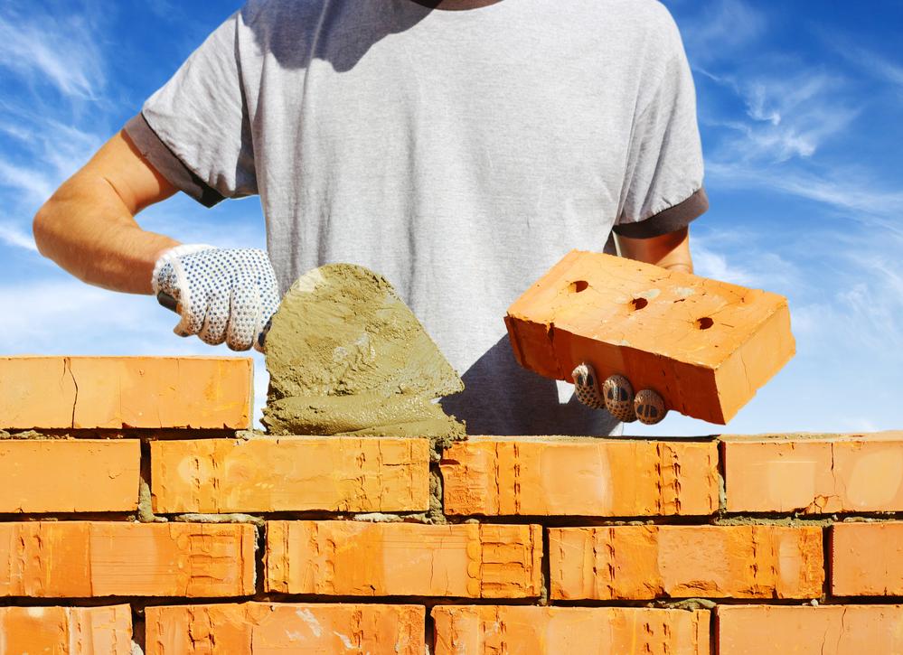 bricklayer wall