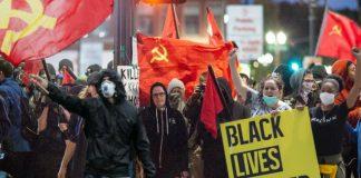 Antifa BLM Communists cancel culture china insurrection