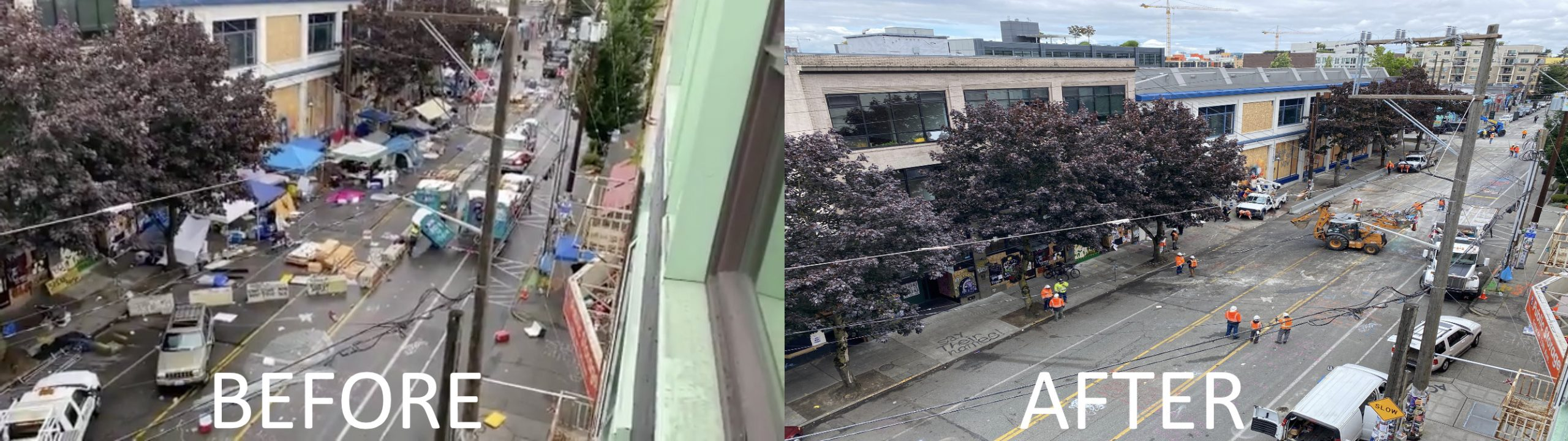 CHOP SEATTLE BEFORE AFTER