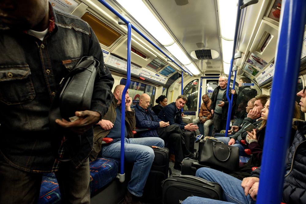 london underground coronavirus airborne