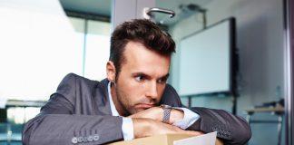 Businessman layoffs