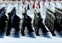 chChinese communist army BLM