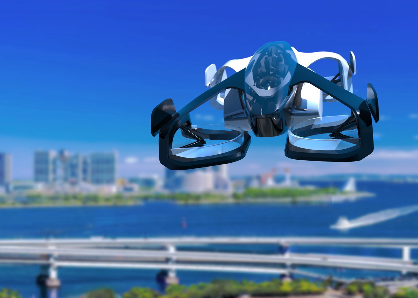 SkyDrive-Concept flying cars