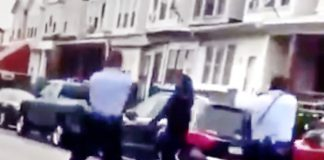 man with knife shot by police