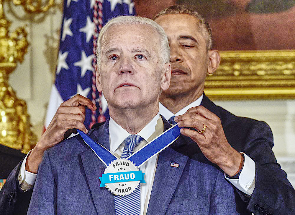 Obama Biden Award Fraud President-unelect