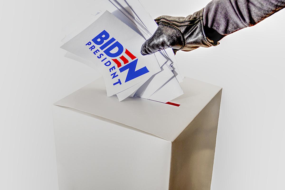 Joe Biden Electoral fraud FBI Investigation