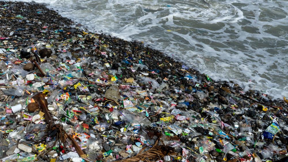 beach ocean pollution