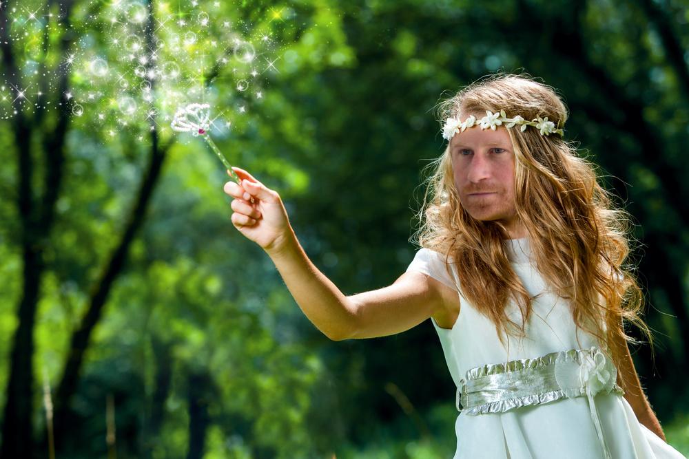 harry woke fairy