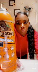 retard gorillaglue girl
