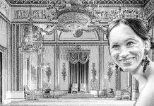 meghan markle throne room