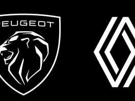 peugeot and renault logos