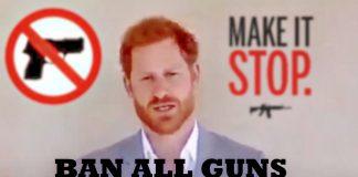 HARRY BAN ALL GUNS USA REPEAL FOURTH AMENDMENT