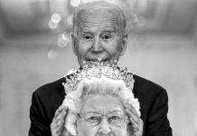 joe biden the queen
