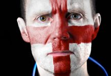 england fan superstitious