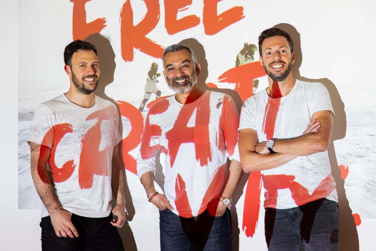 From left to right César García, Sandeep Chawla and Julio Álvarez
